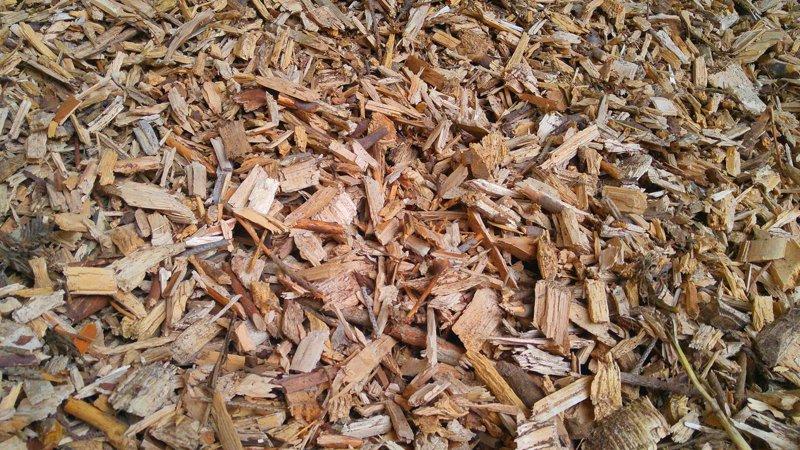 Biomasse-Hackschnitzel
